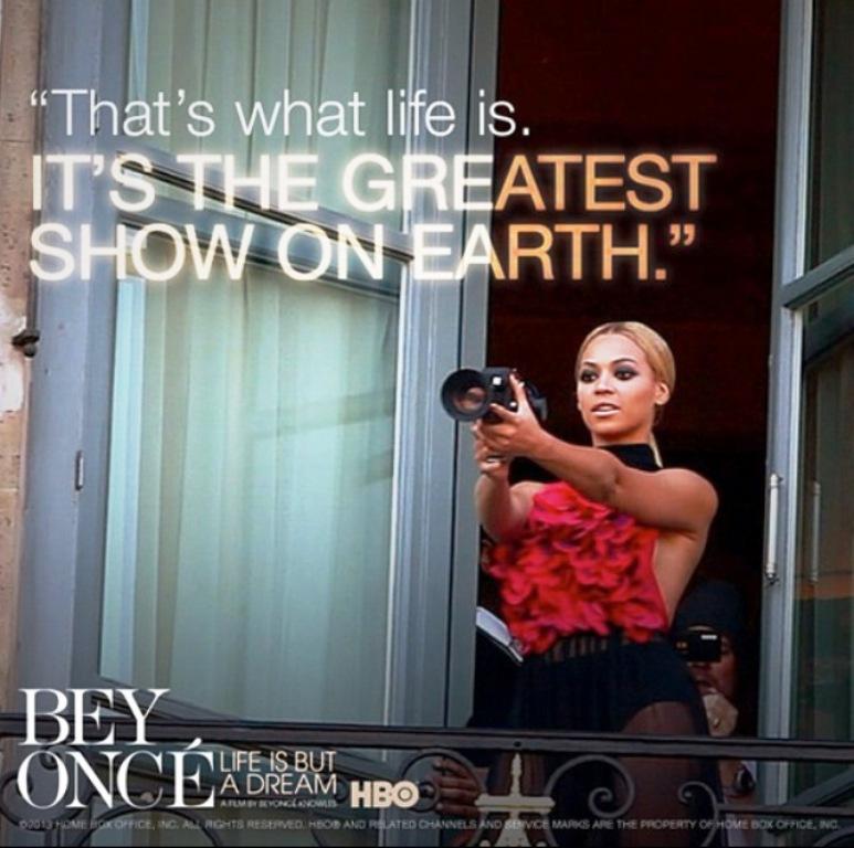 beyonces life
