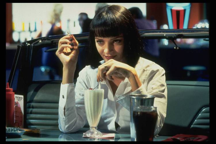 THE FILM 'PULP FICTION' BY QUENTIN TARANTINO