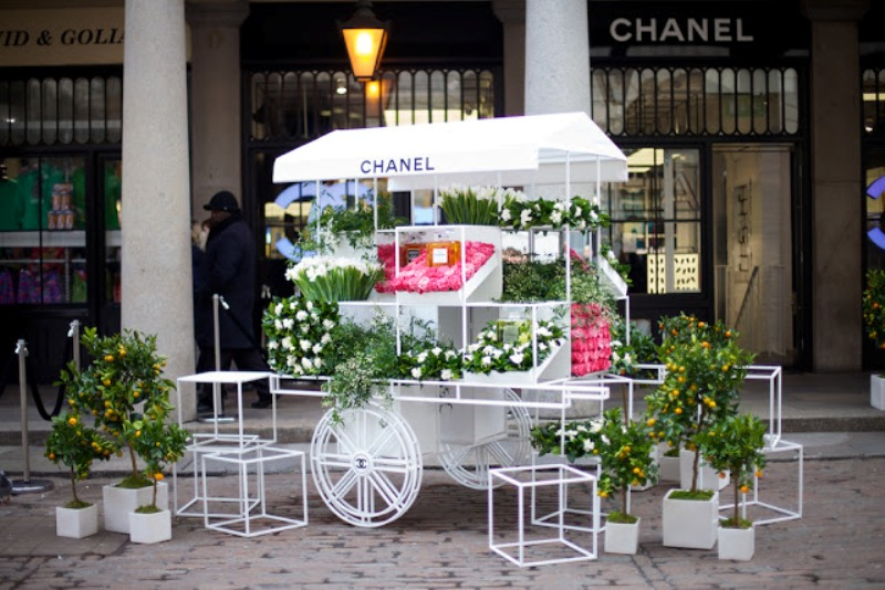 Chanels Nail Bar Flower Stall Covent Garden Janice Adore