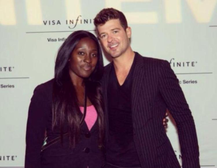 Robin Thicke et Janice Adore